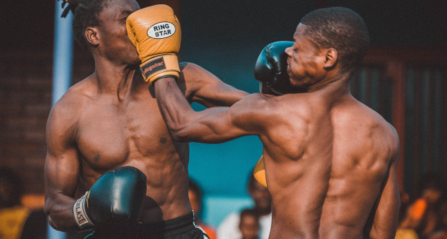 Kick-Boxing Match in Mbare, Harare