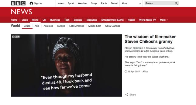 BBC's – Granny Wisdom Series